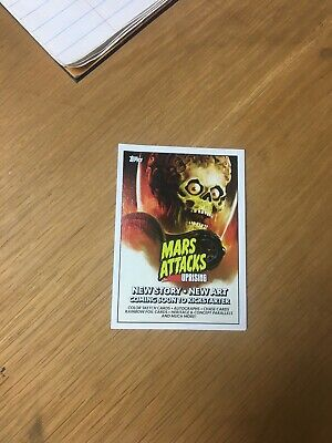 NYCC 2019 Topps Mars Attacks Uprising P1 Promo Trading Card