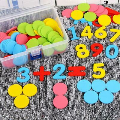 1 box 117Pcs Counters Counting Chips 30mm Math Toy For Bingo Chips Game Tokens
