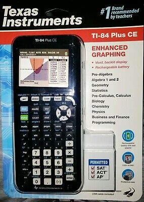 *BRAND NEW* Texas Instruments TI-84 Plus CE Graphing Calculator FREE SHIPPING!!