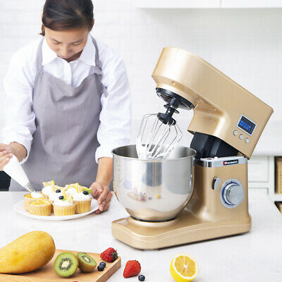 Electric 5L 220V 1200W Food Stand  Dough Mixer Kneading Kitchen Commercial Cake