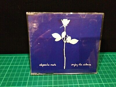 "Depeche Mode Enjoy The Silence Very Rare 3"" Cd Single And Cd Adaptor Bong Mute"