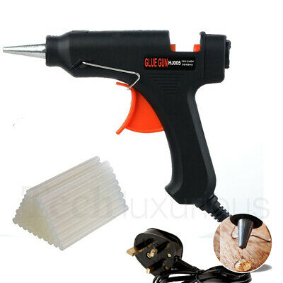 Glue Gun Hot Melt Electric Trigger With Glue Sticks 7mm DIY Adhesive Craft Hobby