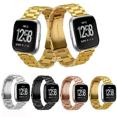 2020 For Fitbit Versa Lite Milanese Replacement Strap Bands Bracelet