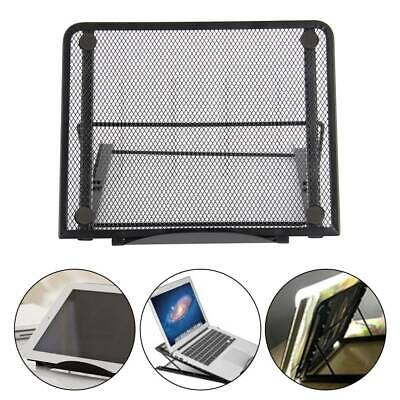 Mesh Tablet Laptop Pad Stand Holder Riser Folding Table Adjustable Support Tray