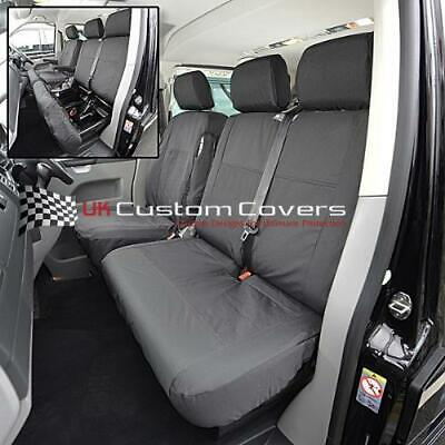 Vw Transporter T4 1996-2003 Tailored Waterproof Front Seat Covers 103
