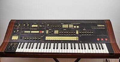 YAMAHA CS-70M DUAL CHANNEL POLYPHONIC SYNTHESIZER Vintage 1980* RARE