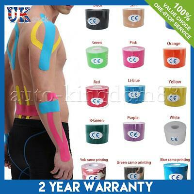 Elastic Muscle Tape Kinesiology Relief Sports Shoulder Physio PRO Support Body