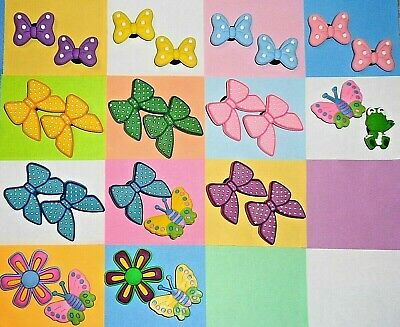 Butterfly & Bows  Shoe Charms Shoe Pins Plugs Accessories Shoe Decorations