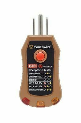 Southwire Tools & Equipment 40020S GFCI Receptacle Tester
