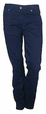 Trousers Casual Sports Elaticizzato Man Cotton Star Blue Size 46 (32)