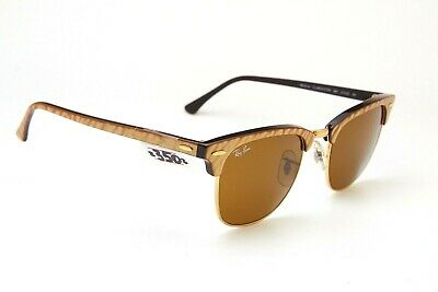 NOS! RAY BAN CLUBMASTER NEAT STREET GOLD SOLD OUT 200* RB3016 Vintage sunglasses