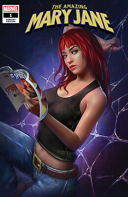 AMAZING MARY JANE #1 Shannon Maer Variant 1st Print NM Marvel Limited To 3000