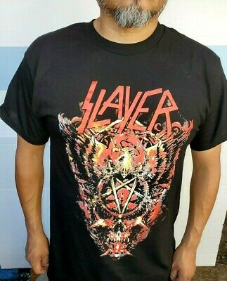 SLAYER BIG SKULL METAL ROCK MEN's T SHIRT SIZES
