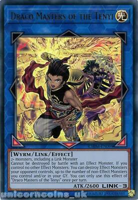 CHIM-EN099 Draco Masters of the Tenyi Ultra Rare 1st Edition Mint YuGiOh Card
