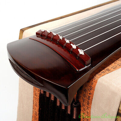 """Beginner 48"""" Guqin Chinese 7-stringed zither instrument strings Heptachord #5192"""