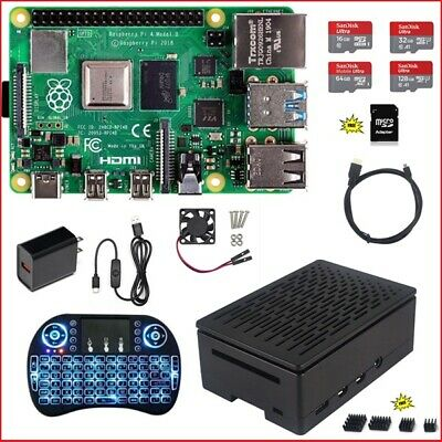 Raspberry Pi 4 Model B DIY (4G, 2G, 1G) Kit - NOOBS Ultra-Silent Fan