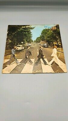 Abbey Road The Beatles Vinyl Stereo Canada Canadian First Edition press 1969