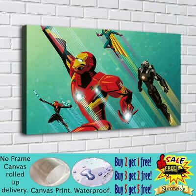 """16""""x32""""Super hero HD Canvas prints Painting Home Decor Picture Room Wall art"""