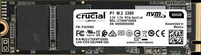 Crucial P1 500GB M.2 2280 NVMe Internal SSD