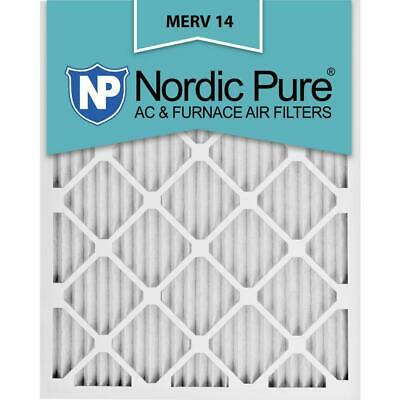 12 In. X 25 In. X 1 In. Supreme Allergen Pleated Merv 14 - Fpr 10 Air Filter (6-