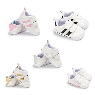 AU Toddler Baby Shoes Infant Toddler Baby Boy Girl Soft Sole Crib Shoes Sneaker