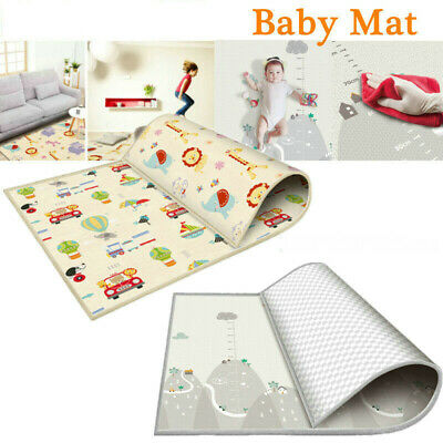 1.8*2M Non-Slip Baby Carpet Game Play Mat Foam Puzzle Pad Child Crawling Blanket
