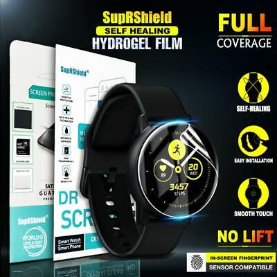SupRShield Samsung Galaxy Watch Active 2 Full Cover Waterproof Screen Protector