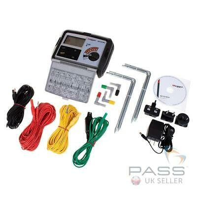 *NEW* Megger DET4TCR2 Rechargeable Earth Tester - Clamp ready (Not included)