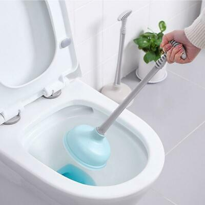 Toilet Plunger Clog Remover Toilet Pipe Cleaner Unclogged Tool Drain Shower Tub