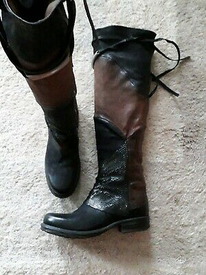 s As98 98 Stiefel Nero Overknee Choco A Airstep Boots wkXulOZPiT
