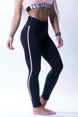 Nebbia One Striped Leggings 652 Fitness Pants Bodybuilding Tights