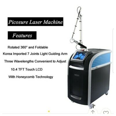 Pico Laser Machine Tattoo Removal Korean standing picosecond laser.
