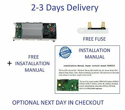 DELIVERY 2-3 DAYS-AP6013143 Whirlpool Dryer Control Electronic AP6013143