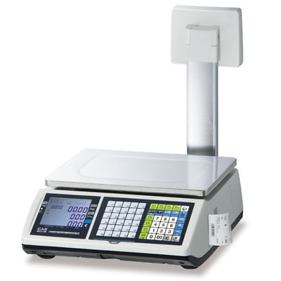 CAS CT100 Receipt Printing Weighing Scale
