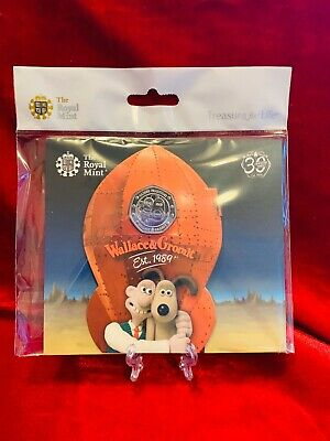 2019 Wallace and Gromit 50p Fifty Pence Coin Royal Mint BU Pack