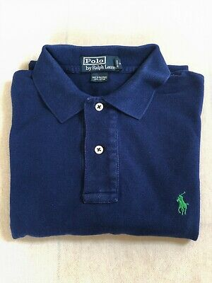 Polo By RALPH LAUREN  Men's Shirt Size s Custom fit Formal Casual Top100% cotton