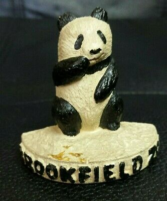 Collectible Antique Brookfield Zoo BABY GIANT PANDA SULIN Chicago 1930s souvenir