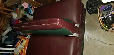 Double sided restaurant booth seat. Great for man cave! Or a pontoon boat seat!