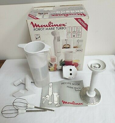 Moulinex Turbo Robot-Marie Hand Mixer Parts – With Original Box