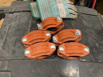 Victaulic 1 1/2 / 48.3-005H Pipe Coupling - Lot of 5