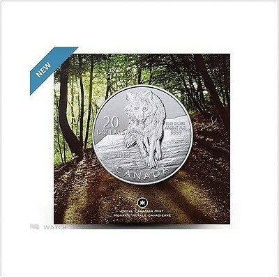 2014 Specimen $20 for $20 #12-Bobcat Canada .9999 silver COIN ONLY twenty dollar