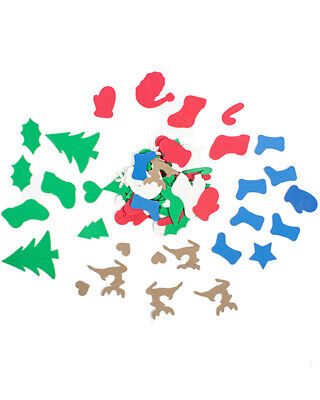 Christmas Foam Shapes Pack Of 300 One Size