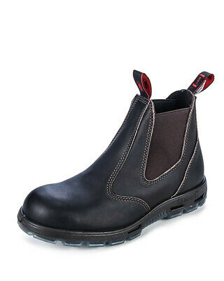 Redback UBOK Non Safety Work Boots. Elastic Sided Bobcat. Oiled-Kip. Brand
