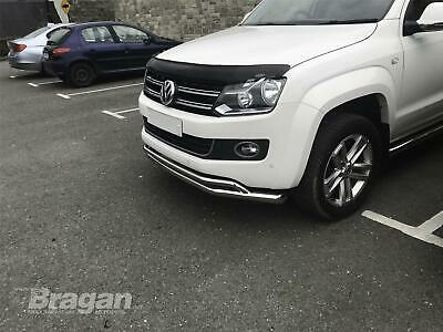 Bonnet Guard For Volkswagen Tiguan 2016+ Smoked Tinted Acrylic Hood Shield 4x4