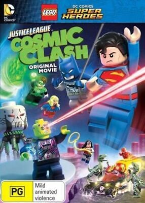 LEGO - Justice League : COSMIC CLASH- Kid's MOVIE - NEW DVD - Region 4
