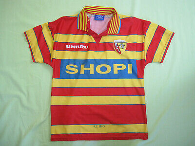 Maillot Racing Club de Lens Umbro Shopi RCL vintage jersey Football - S