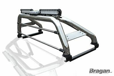 2016 Ford Ranger T6 Roll Bar Stainless Steel Fits With Tonneau Covers Eur 328 22 Picclick De