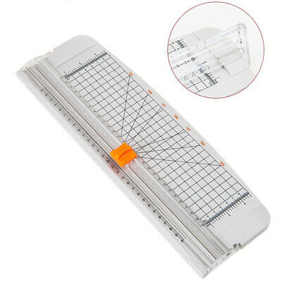Cutter Paper Trimmer Portable Guillotine Ruler Photo A4 Scrapbooking Labels