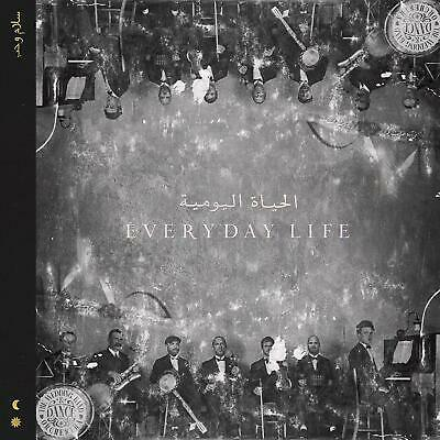 Coldplay Album Everyday Life CD 2019 Chris Martin Band Regalo Natale