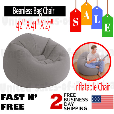 Remarkable Inflatable Soccer Ball Chair Beanless Bag Chair By Bestway Ibusinesslaw Wood Chair Design Ideas Ibusinesslaworg